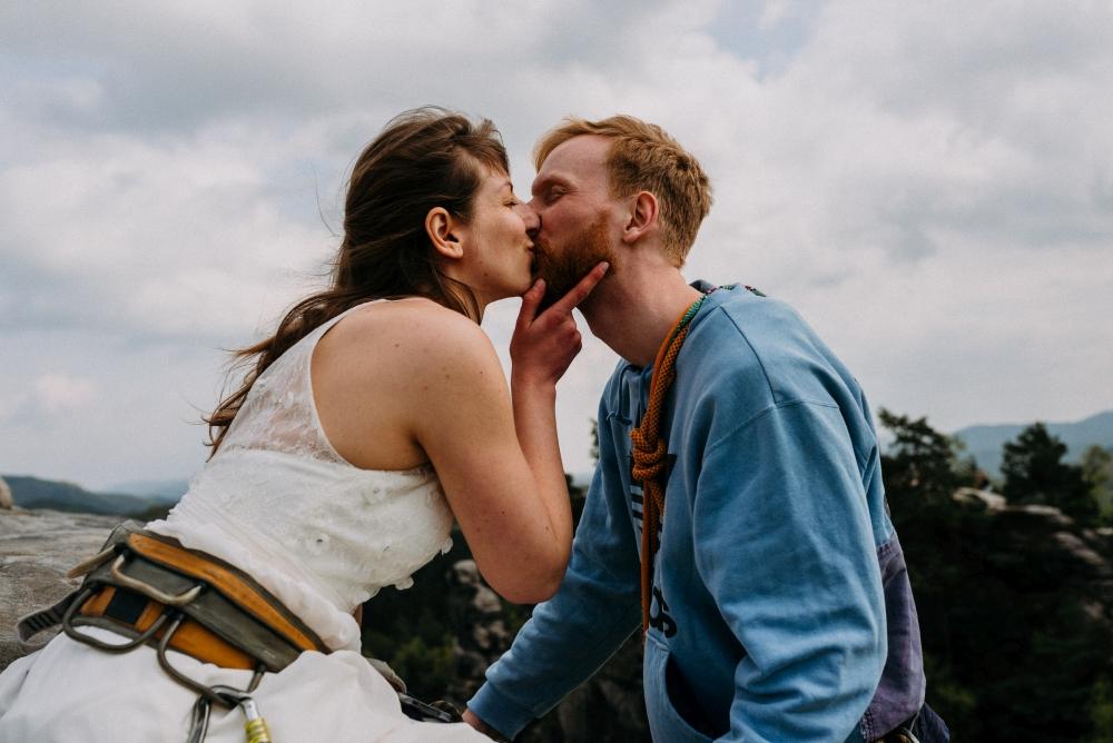 Hochzeitsfotografie in der Sächsischen Schweiz.